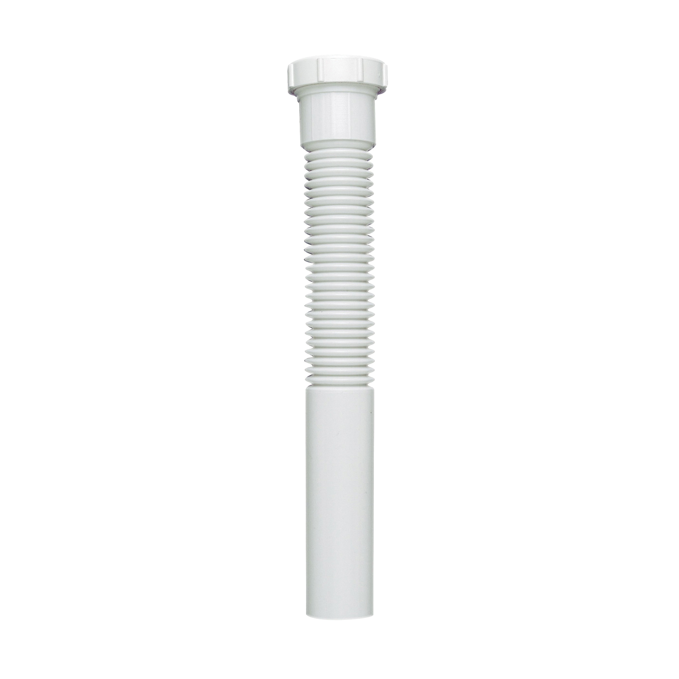Picture of Plumb Pak PP812-6 Extension Tube, 1-1/2 in, 12 in L, Slip Joint, Polypropylene, White