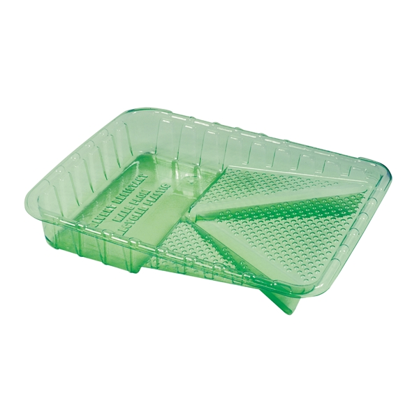 Picture of ENCORE Plastics 02512 Paint Tray, 9 in W, 1 qt Capacity, Plastic, Green