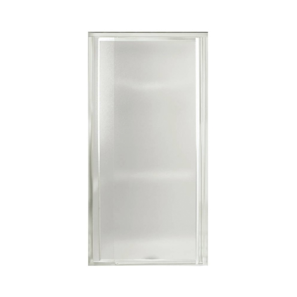 Picture of Sterling 1500D-27S Shower Door, Tempered Glass, Textured Glass, Framed Frame, Aluminum Frame