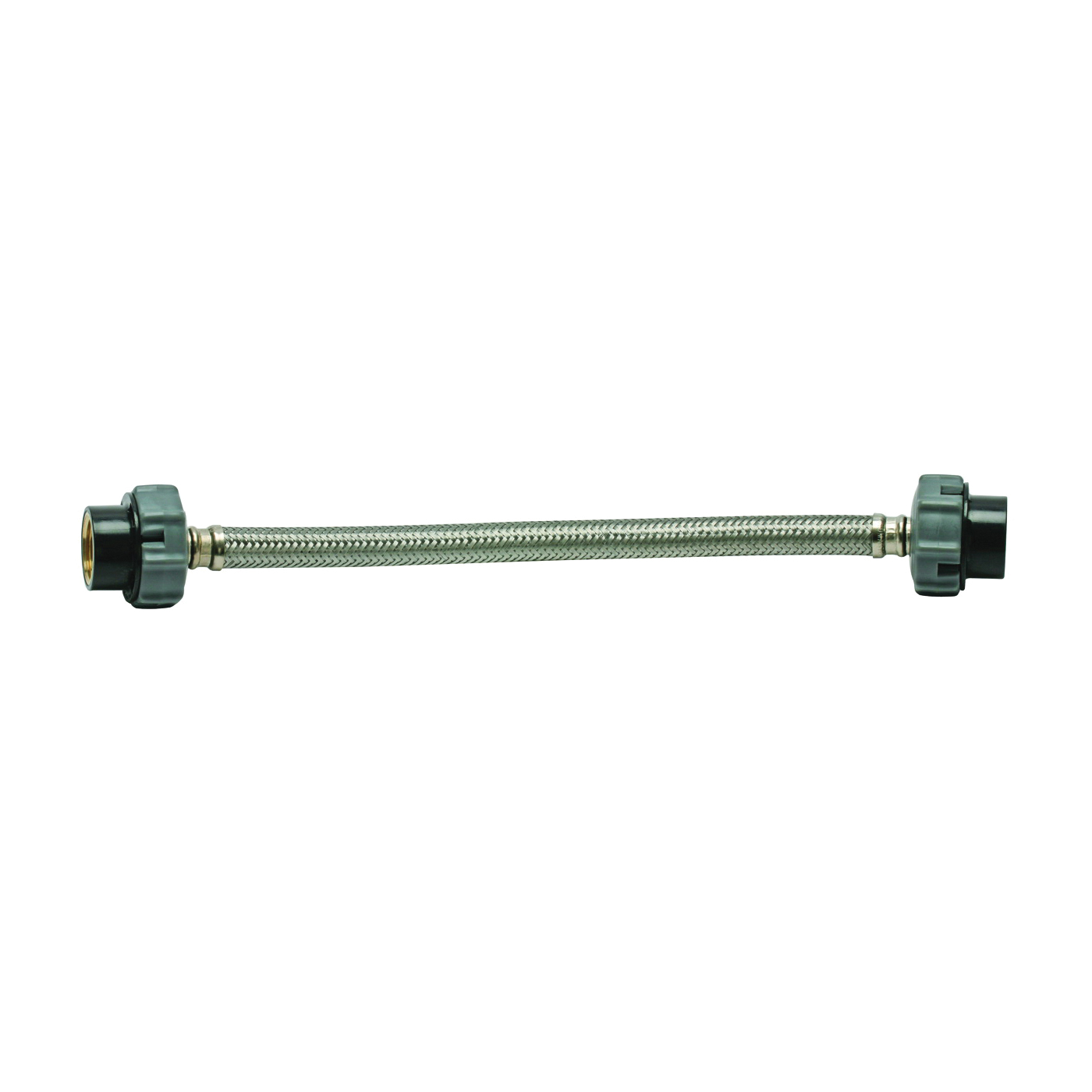 Picture of FLUIDMASTER Click Seal B1F20CS Water Supply Connector, 3/8 x 1/2 in, Compression x FIP, Polymer/Stainless Steel
