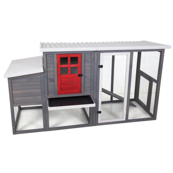 Picture of PETMATE 7029293 Hen House Chicken Coop, 41 in H, 78 in W, 4 to 5 Chickens Capacity