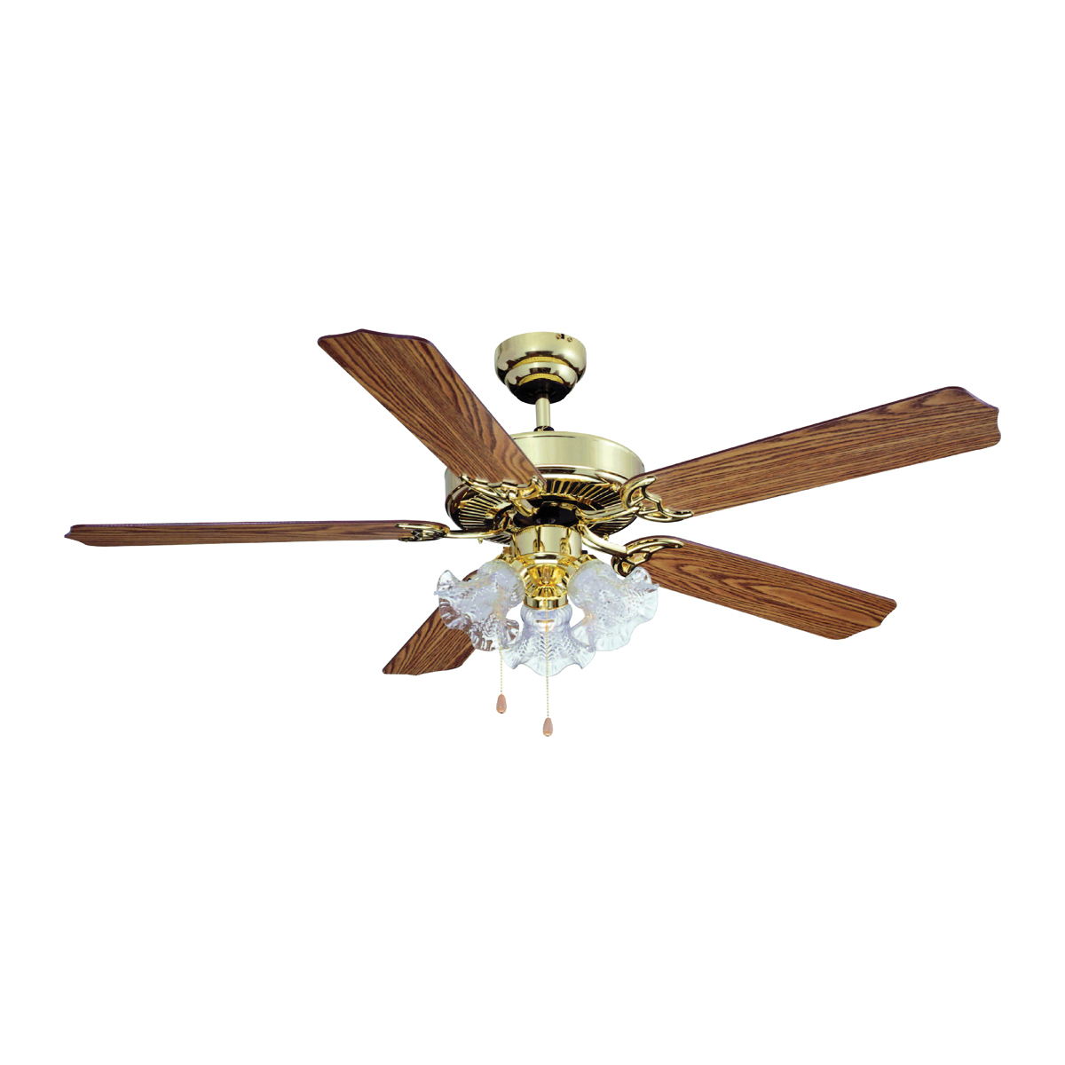 Picture of Boston Harbor CF-78021L Ceiling Fan Light Kit, 0.8 A, 120 V, 5-Blade, 52 in Sweep, 2942 cfm Air