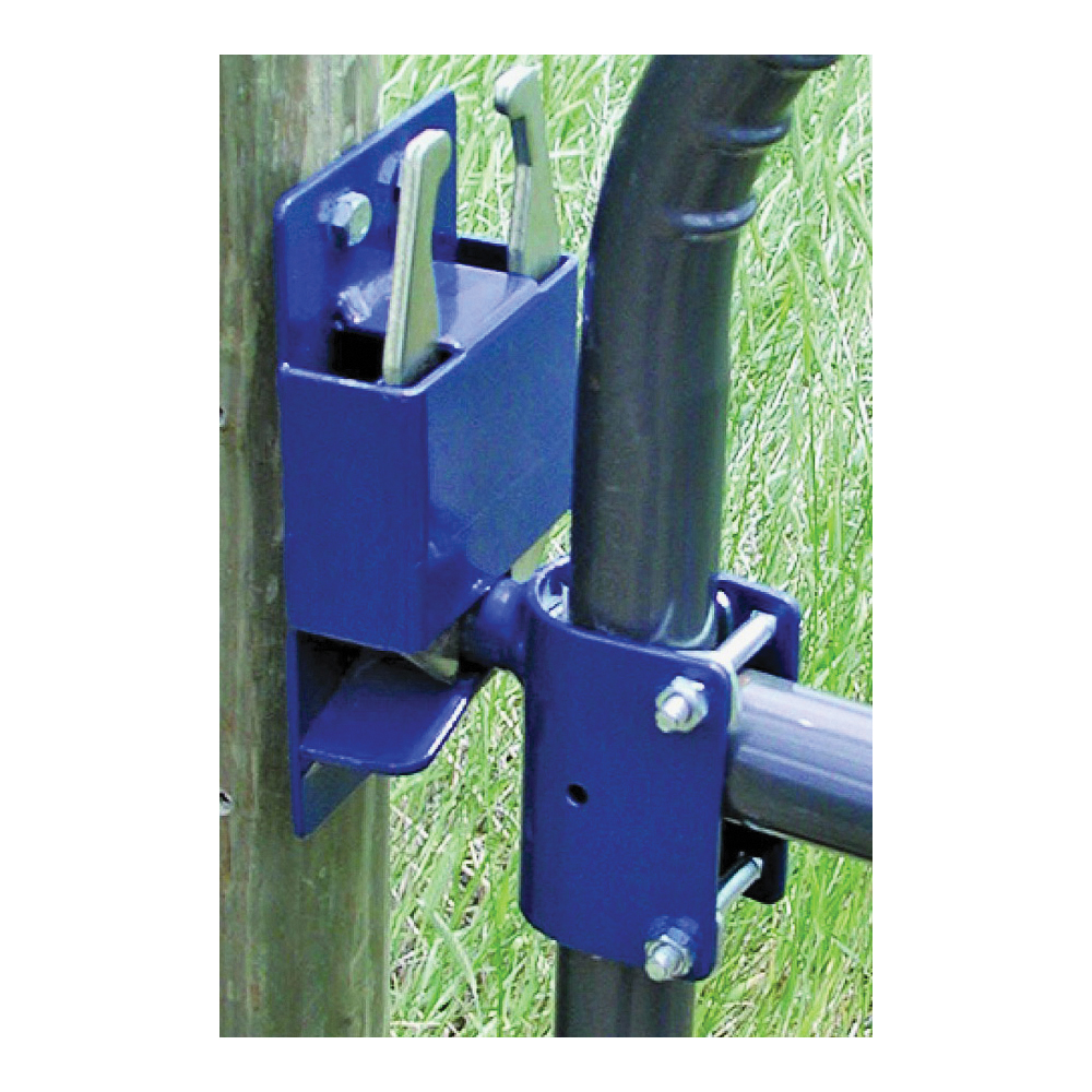 Picture of SpeeCo S16100300 Gate Latch, 2-Way, Blue, For: 1-5/8 to 2 in OD Round Tube Gate