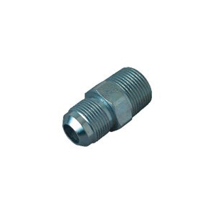 Picture of BrassCraft PSSC-63 Male Half Union, 5/8 x 1/2 in, Flare x MIP, Stainless Steel