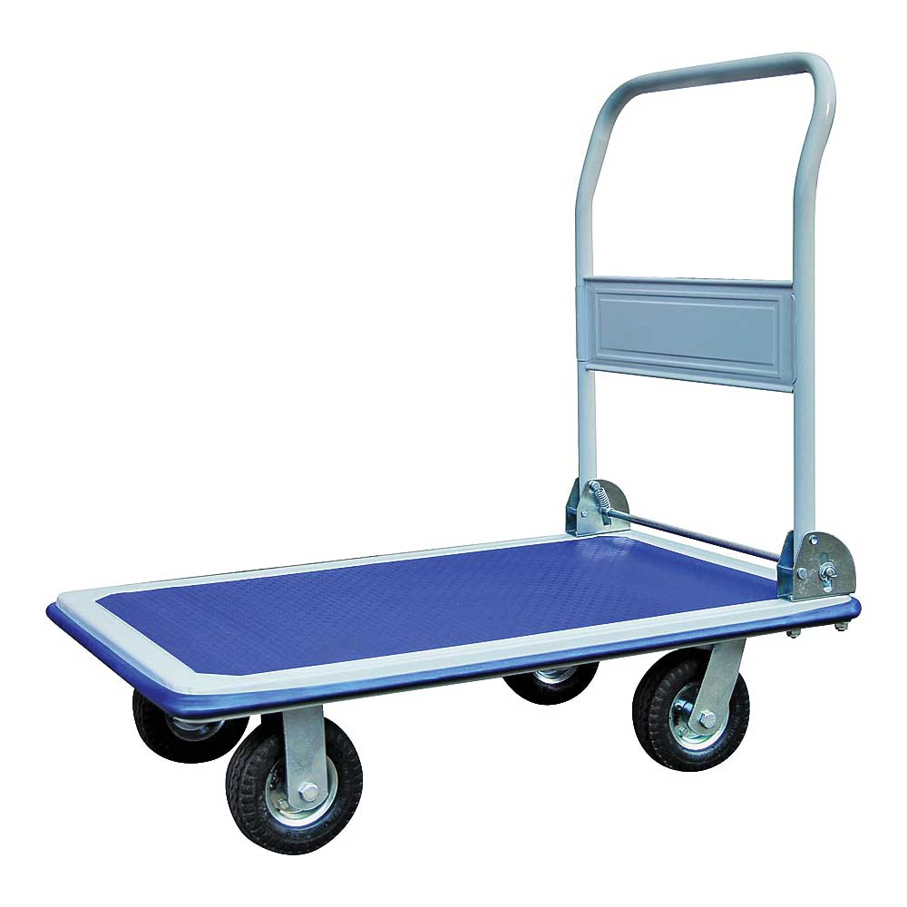 Picture of ProSource PH3001GX Platform Cart, 880 lb, 35-3/4 in L Platform, 24 in W Platform, Pneumatic/Swivel Wheel