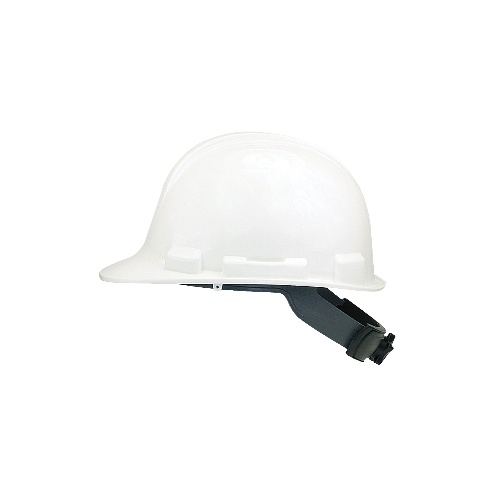 Picture of MSA SWX00346 Hard Hat, 4-Point Textile Suspension, HDPE Shell, White, Class: E