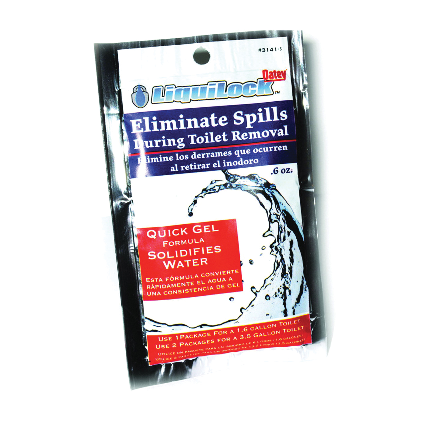 Picture of Oatey 31416 Toilet Water Removal Gel