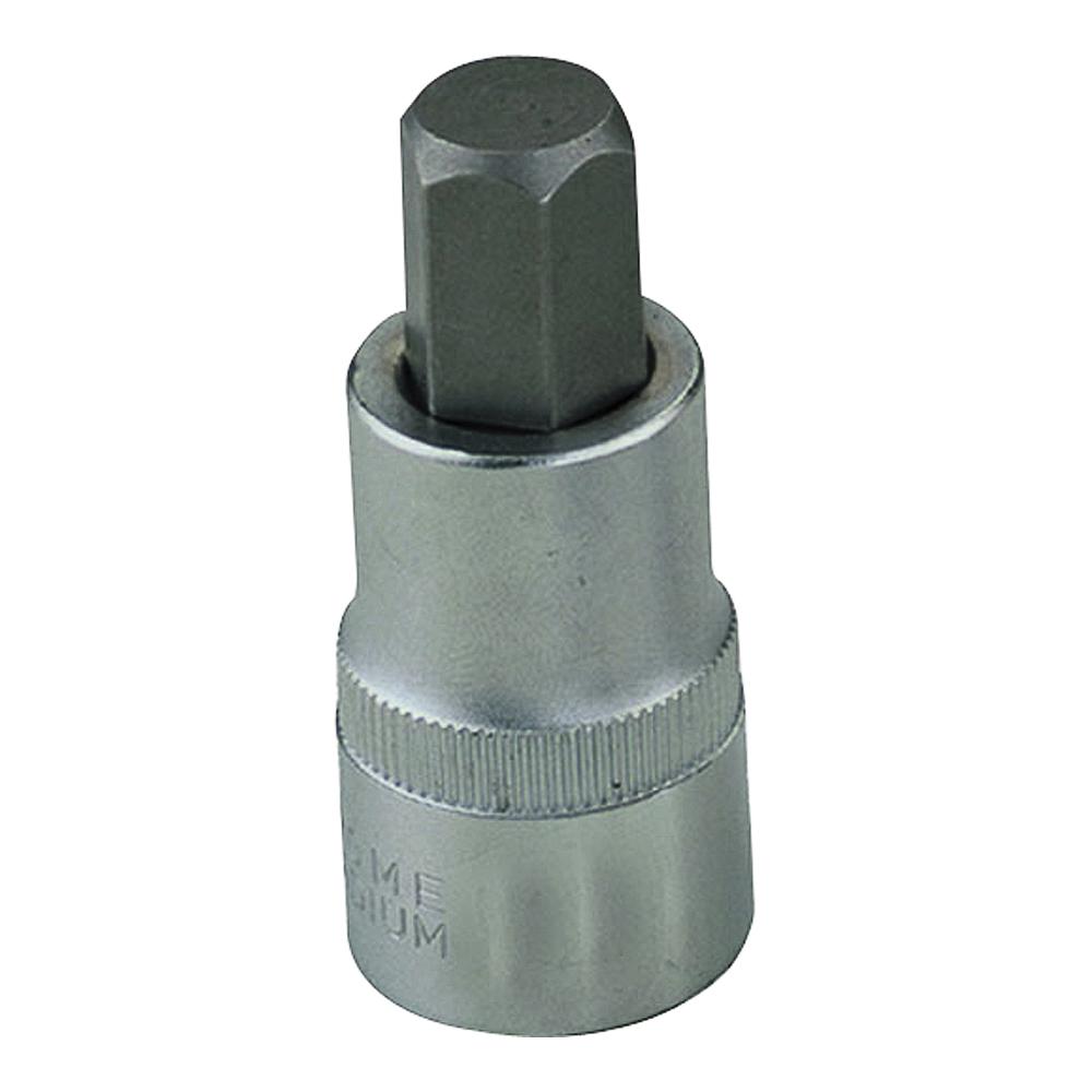 Picture of Vulcan 3506012213 Fractional Hex Bit Socket, 9/16 in Tip, 1/2 in Drive, Chrome Vanadium