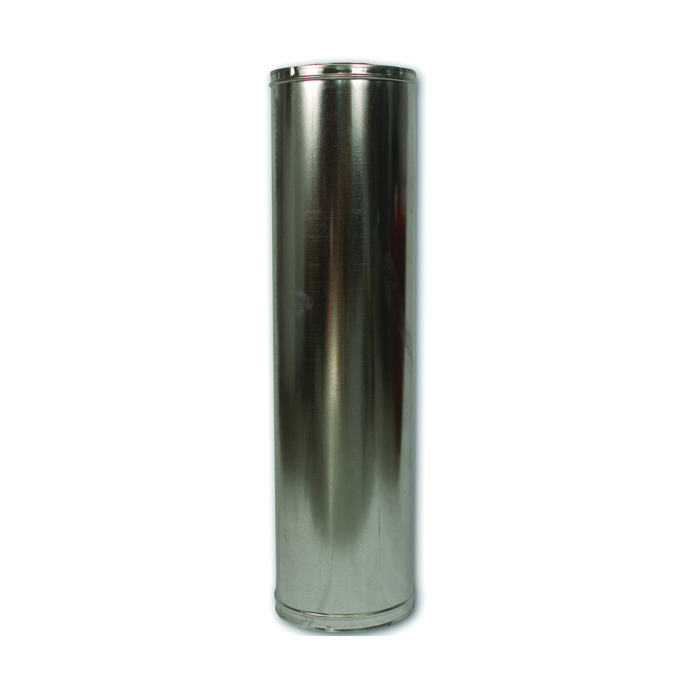 Picture of Comfort Flame 48-8DM Chimney Pipe, 12-3/8 in OD, 48 in L, Galvanized Steel