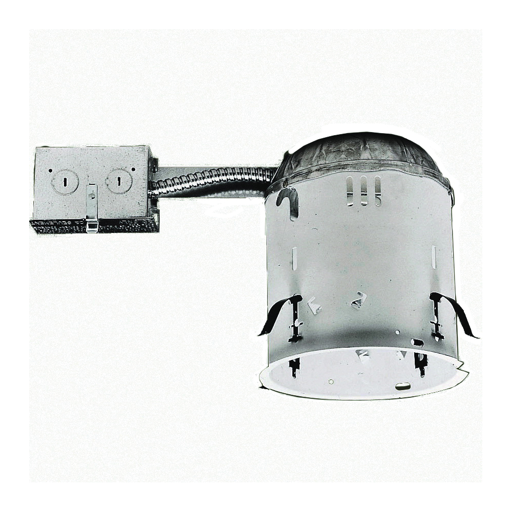 Picture of Halo H7RT Recessed Housing, 6 in Dia Recessed Can, Steel, White