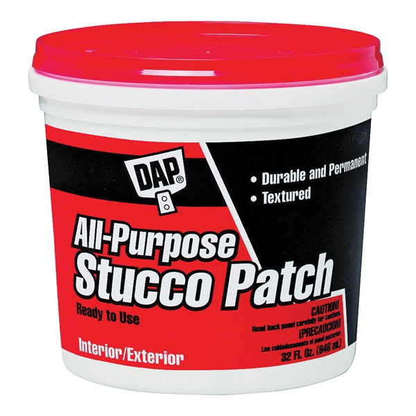 Picture of DAP 60590 Stucco Patch, Gray, 1 gal Package, Tub