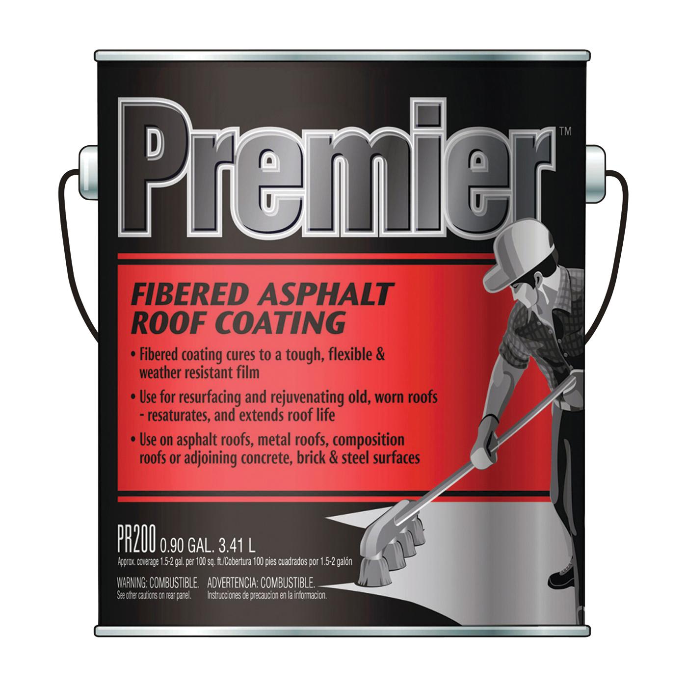 Picture of Henry PR200042 Asphalt Roof Coating, Black, 3.41 L, Can, Liquid