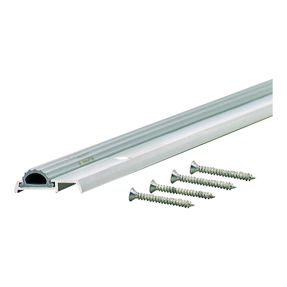 Picture of M-D 08243 Mini Threshold, 36 in L, 1-3/8 in W, Aluminum, Aluminum