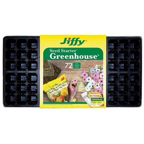 Picture of Jiffy T72HST-14 Seed Starter Kit, 72 -Piece