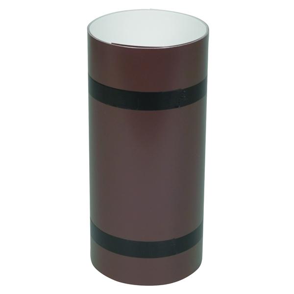 Picture of Amerimax 69410 Trim Coil, 10 ft L, Aluminum, Brown/White