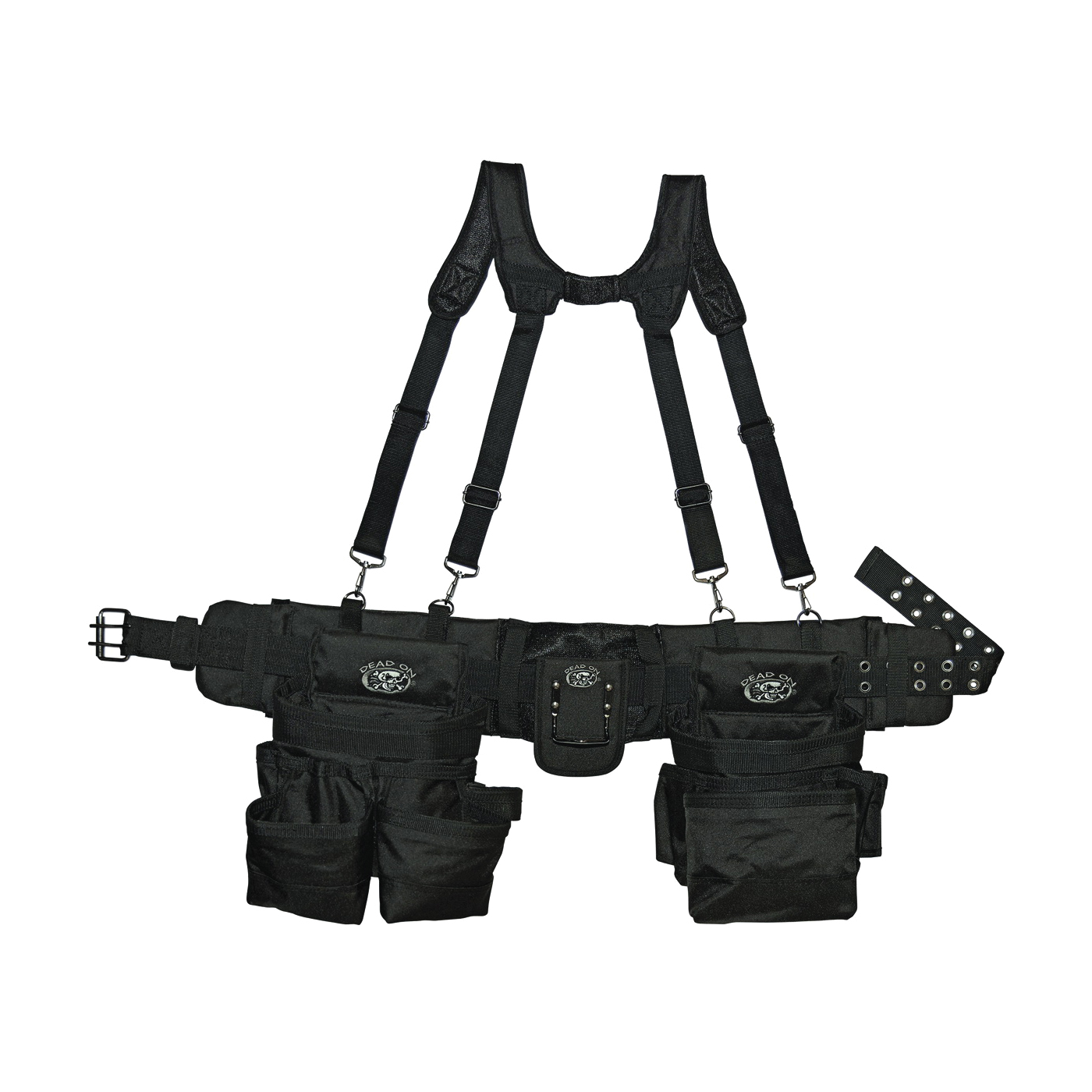Picture of Dead On DO-FR Tool Rig with Suspenders, Poly Fabric, Black, 30 -Pocket