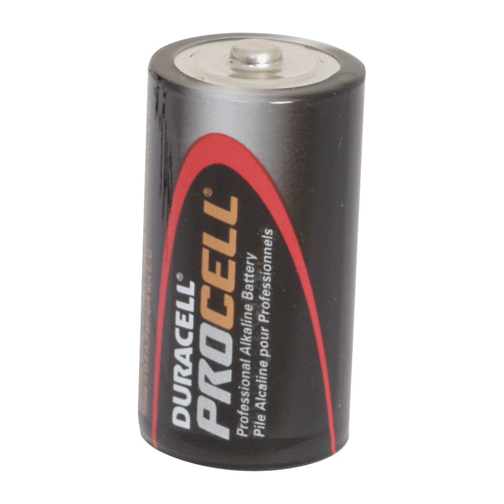 Picture of DURACELL PROCELL PC1400 Alkaline Battery, 1.5 V Battery, 7 Ah, C Battery, Manganese Dioxide, 12/PK