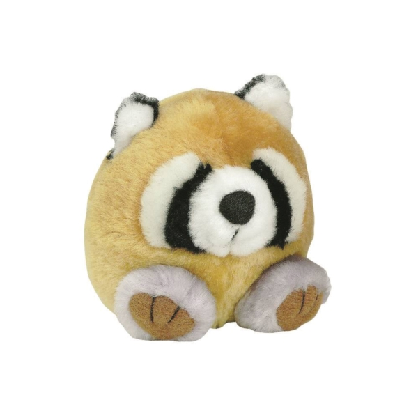Picture of booda 53601 Squatters Plush Toy, M, Bitable Toy, Raccoon, Synthetic Plush Fabric, Multi-Color