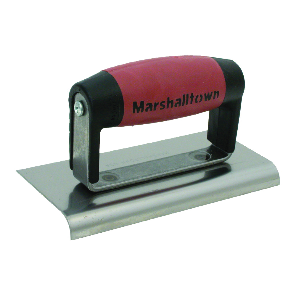 Picture of Marshalltown DuraSoft 36D Hand Edger, 6 in L Blade, 3 in W Blade, HCS Blade, 1/2 in Lip, 3/8 in Lip Radius