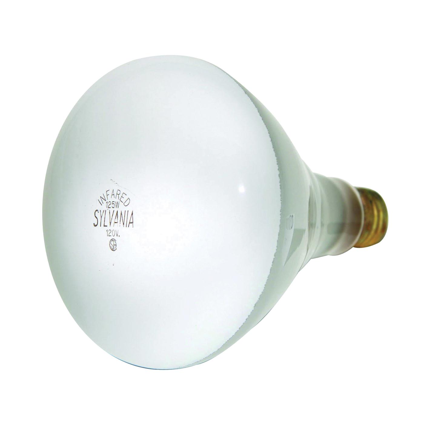 Picture of Sylvania 15451 Incandescent Lamp, 125 W, BR40 Lamp, Medium E26 Lamp Base, 1000 Lumens, 2850 K Color Temp