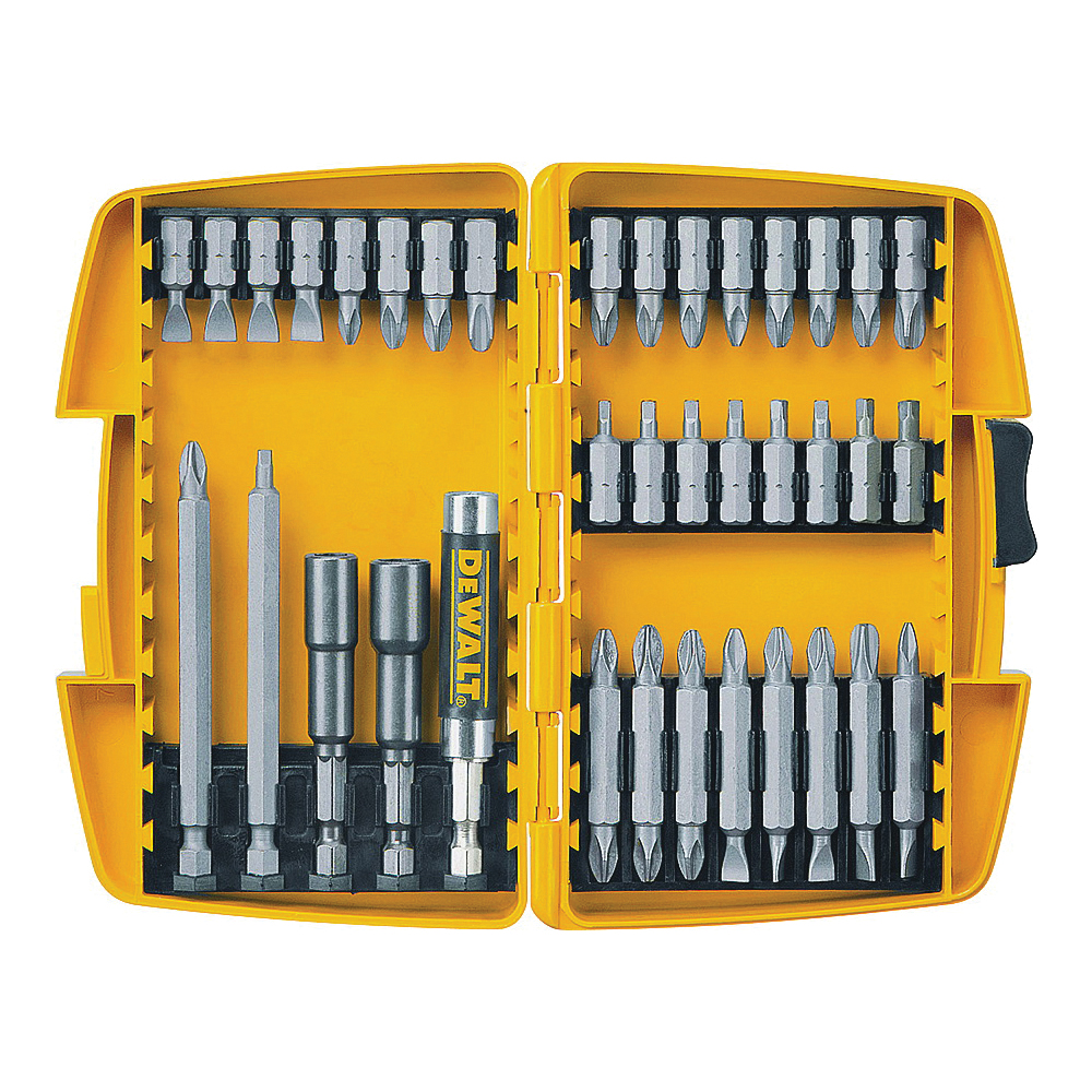 Picture of DeWALT DW2163 Screwdriver Set, 37 -Piece, Steel
