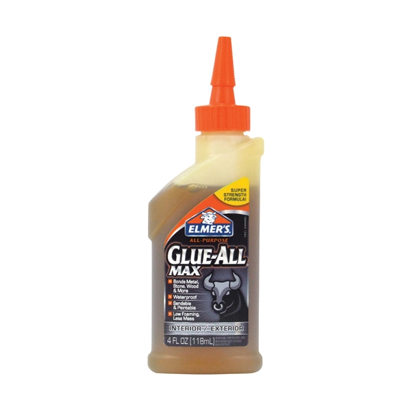 Picture of Elmers E9415 Glue, Brown, 4 oz Package, Bottle