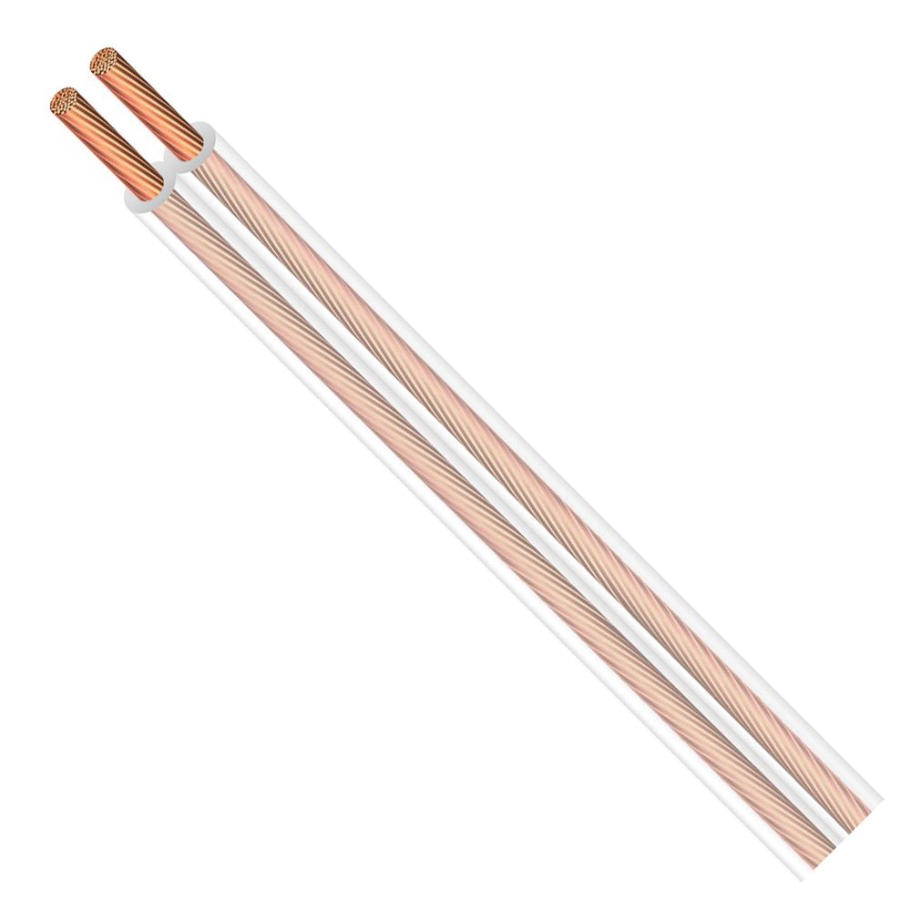 Picture of CCI 600006618 Lamp Cord, 2-Conductor, Copper Conductor, PVC Insulation, 10 A, 300 V