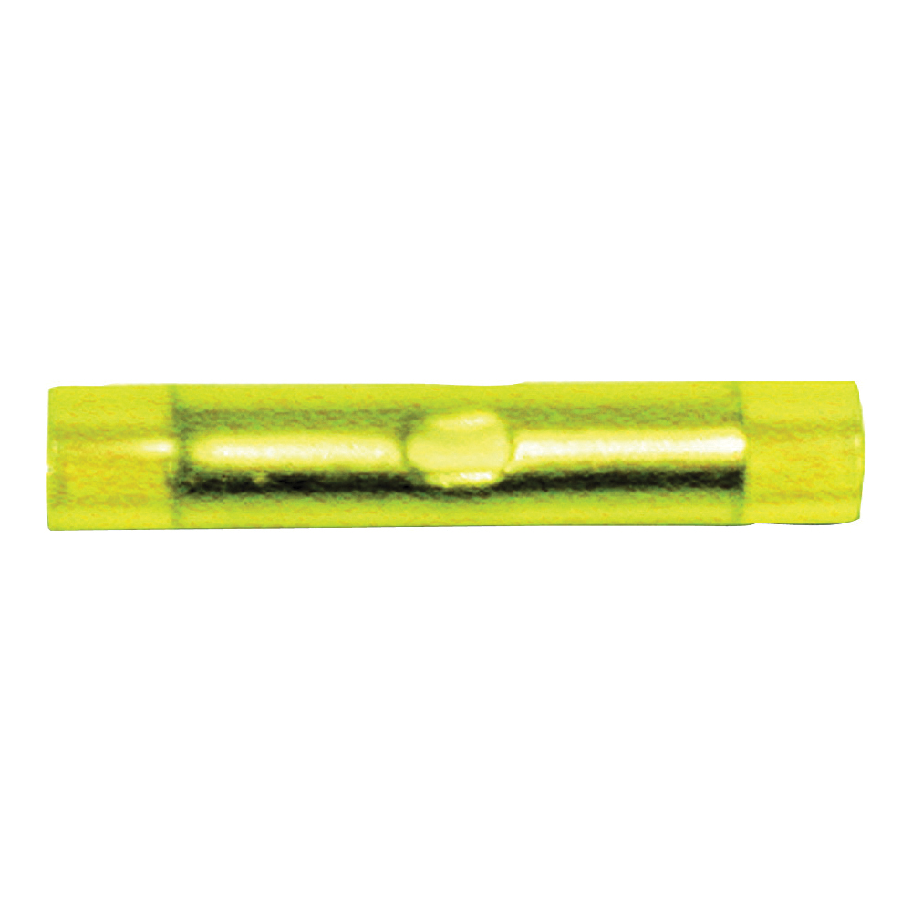 Picture of CALTERM 65521 Butt Splice, 600 V, Yellow