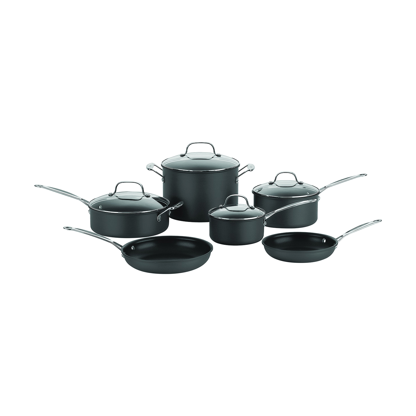 Picture of Cuisinart Chef's Classic 66-10 Cookware Set, 10-Piece