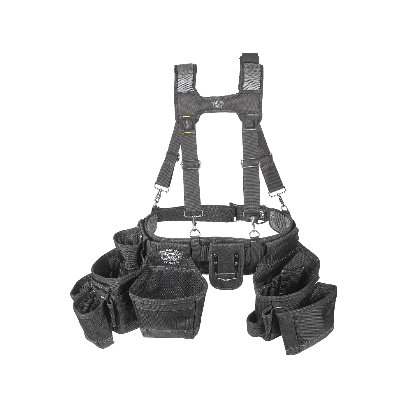 Picture of Dead On HDP369857 Framer's Suspension Rig, 52 in Waist, Poly Fabric, Black, 19 -Pocket