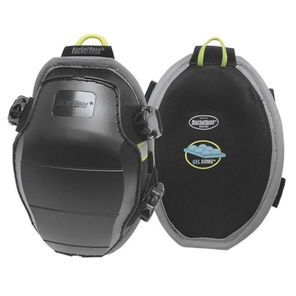 Picture of Bucket Boss KneeKeeper HV GX1 Molded GelDome Swivel Kneepad, Gel Foam Pad, Tri-Buckle Closure