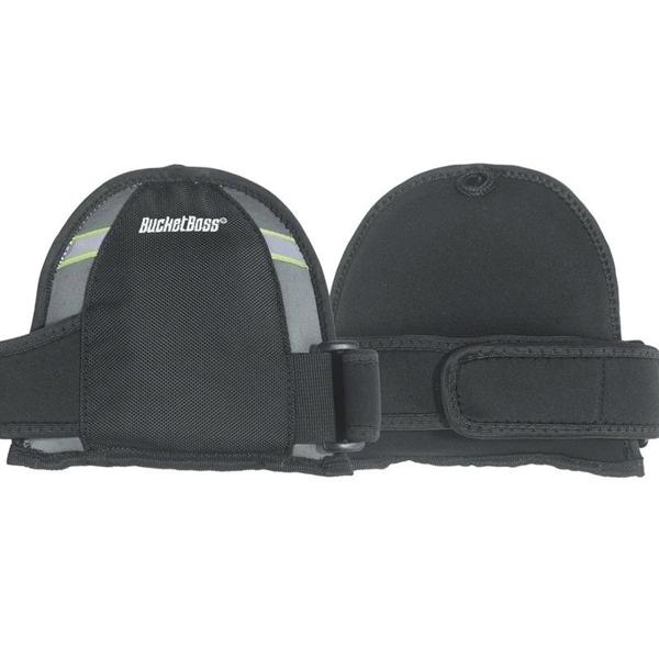 Picture of Bucket Boss KneeKeeper HV GX4 MegaSoft Kneepad, Gel Foam Pad, Buckle, Hook-and-Loop Closure