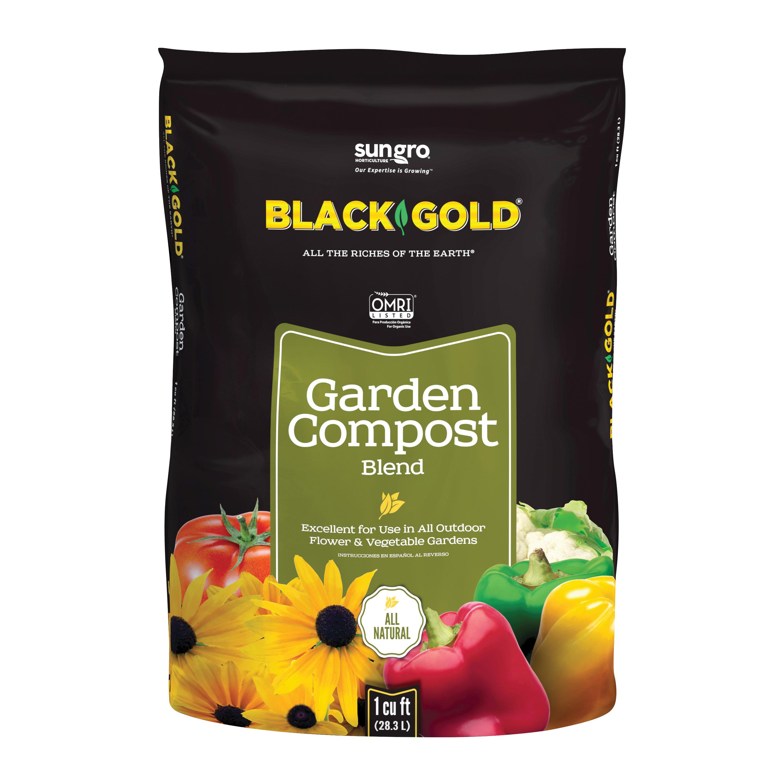 Picture of Black Gold Sunshine 1411602 1 CFL P Garden Compost, 1 cu-ft Coverage Area, 30 lb, Bag