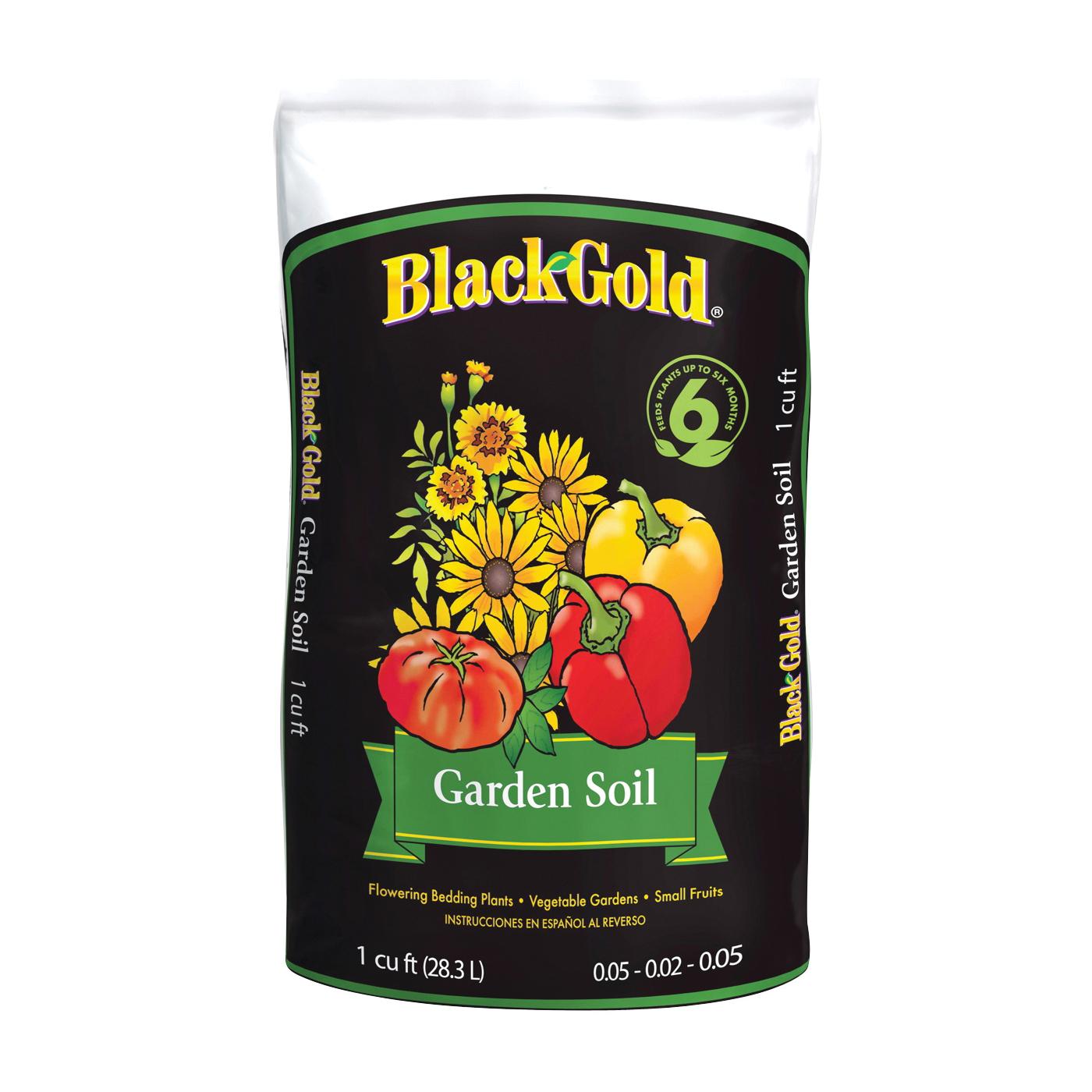 Picture of sun gro BLACK GOLD 1411603.CFL001 Garden Soil, 1 cu-ft Package, Bag
