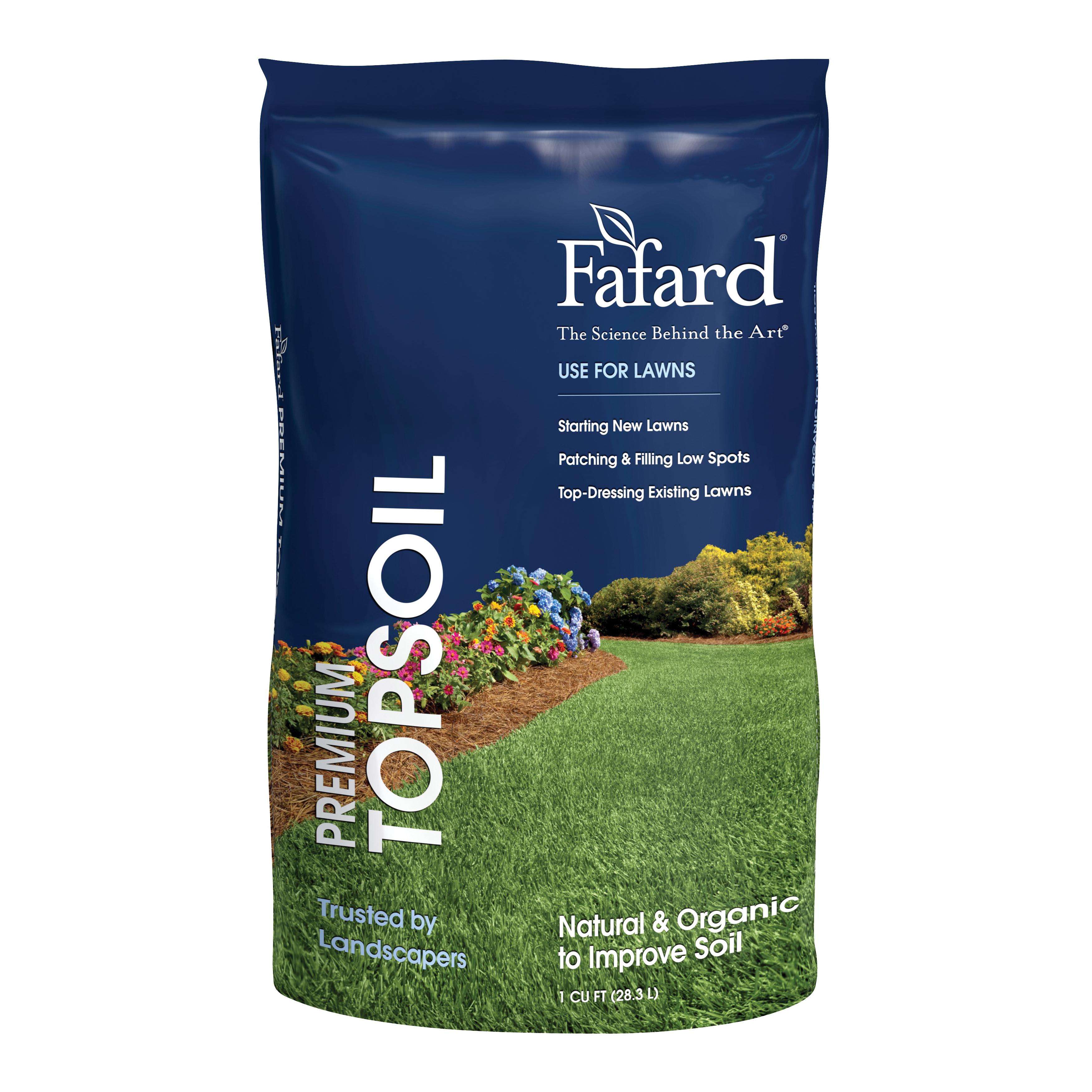 Picture of sun gro Fafard 6000106 Premium Top Soil, 1 cu-ft Package, Pallet
