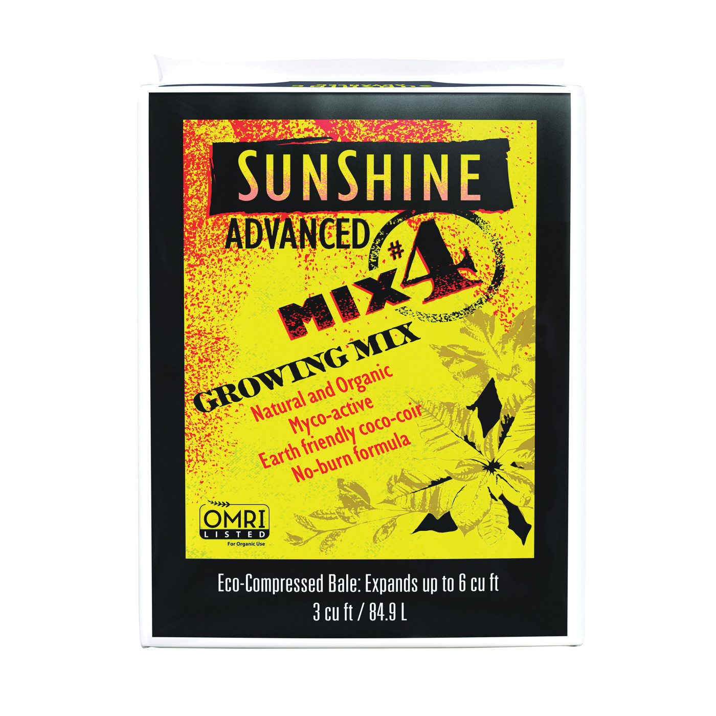 Picture of Sunshine 504500.CFL003P Growing Mix, 3 cu-ft Package