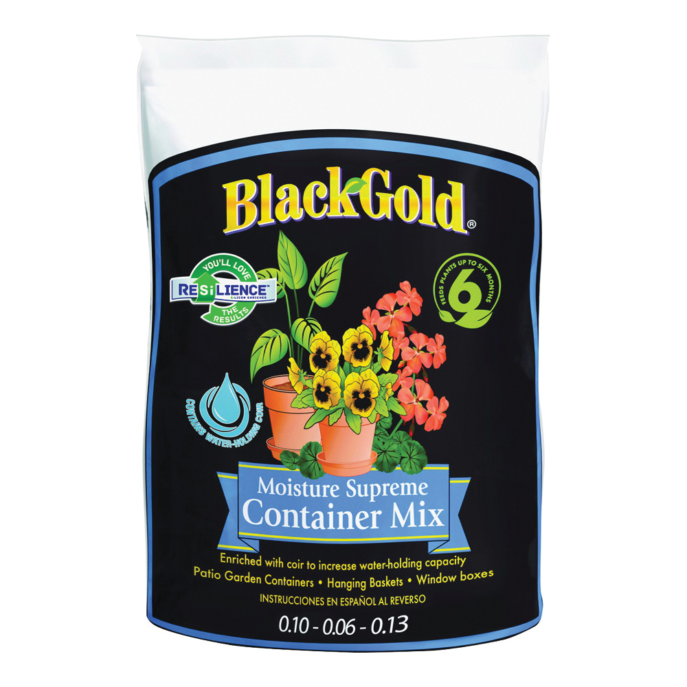 Picture of sun gro BLACK GOLD 1413000Q08P Container Potting Mix, 240 Package, Bag