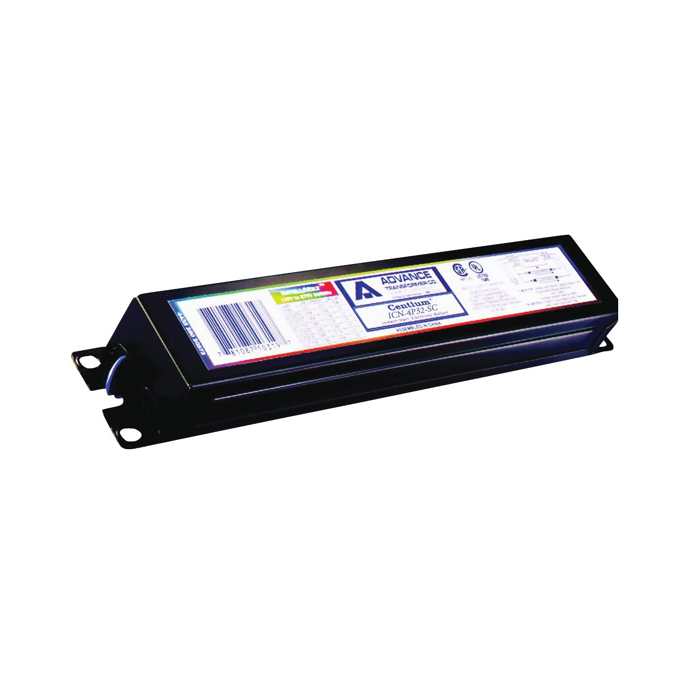 Picture of Philips Advance Centium ICN4P32N35I Electronic Ballast, 120/277 V, 111 W, 4-Lamp