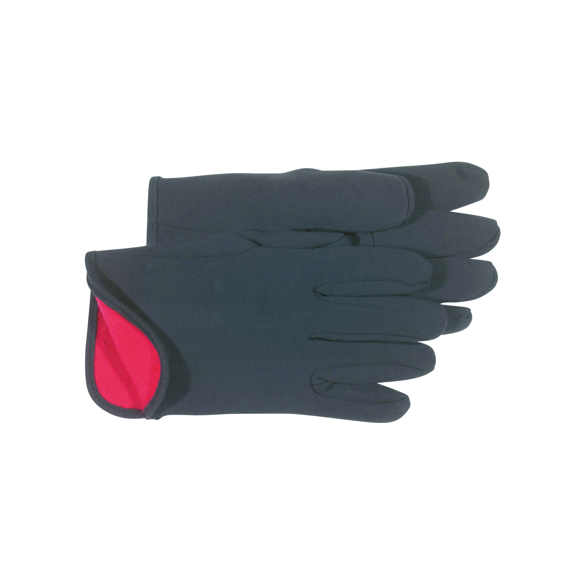 Picture of BOSS 4027 L Protective Gloves, L, Straight Thumb, Knit Wrist Cuff, Cotton/Polyester, Brown/Red