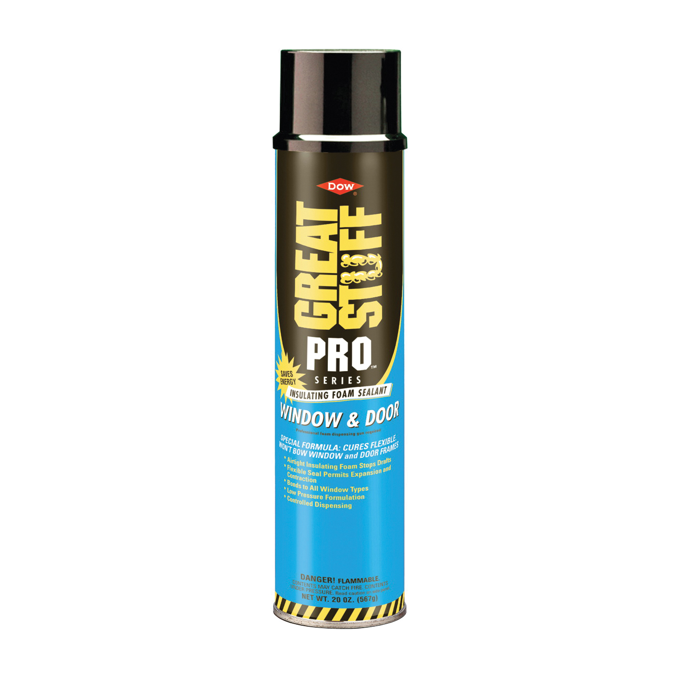 Picture of Dow 197711 Foam Sealant, Yellow, 20 oz Package, Can