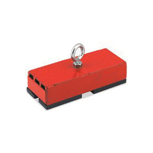 Picture of Magnet Source 07542/07208 Holding and Retrieving Magnet, 5 in L, 2 in W, 1-1/16 in H, Steel