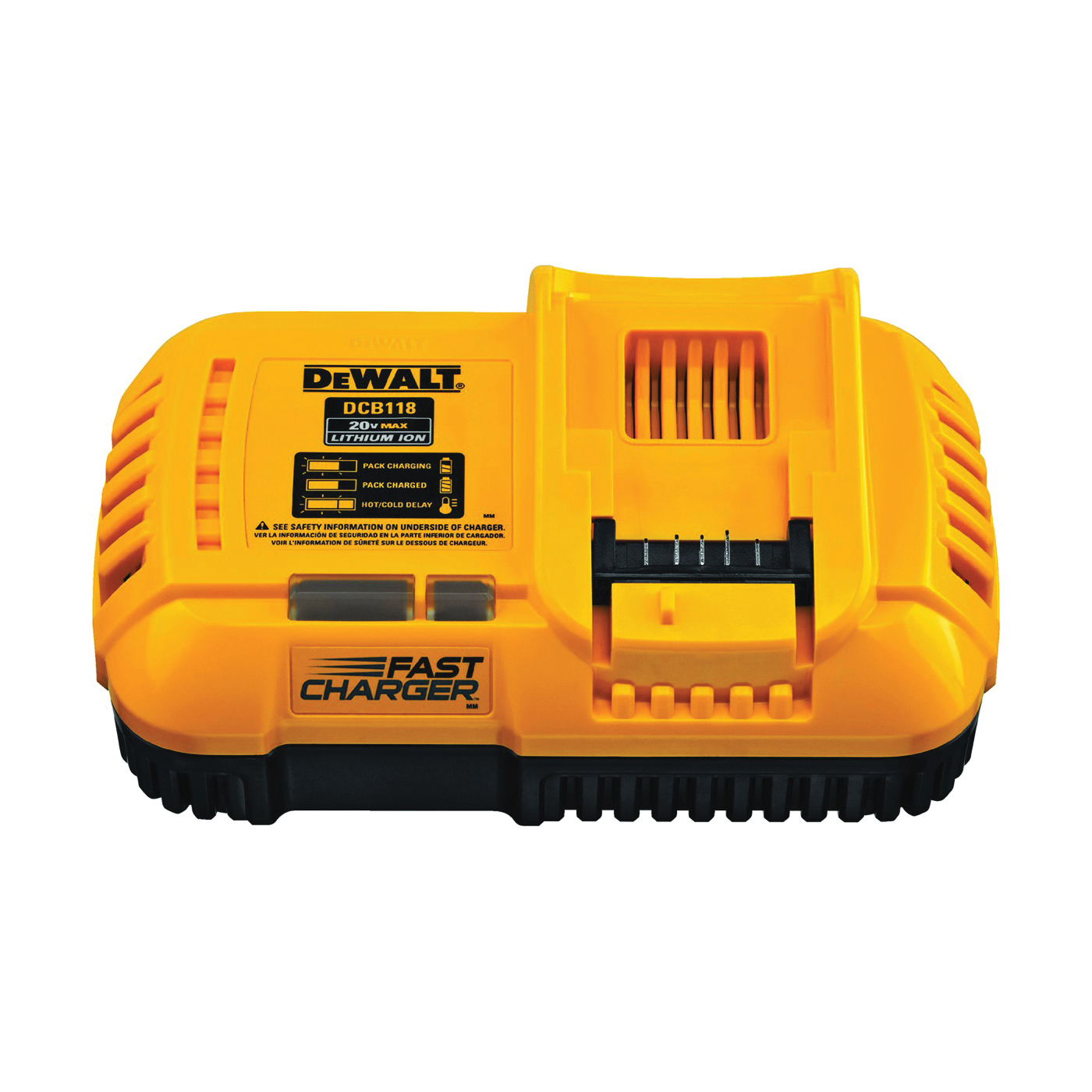 Picture of DeWALT DCB118 Fast Charger, 6 Ah, 60 min Charge, Battery Included: No