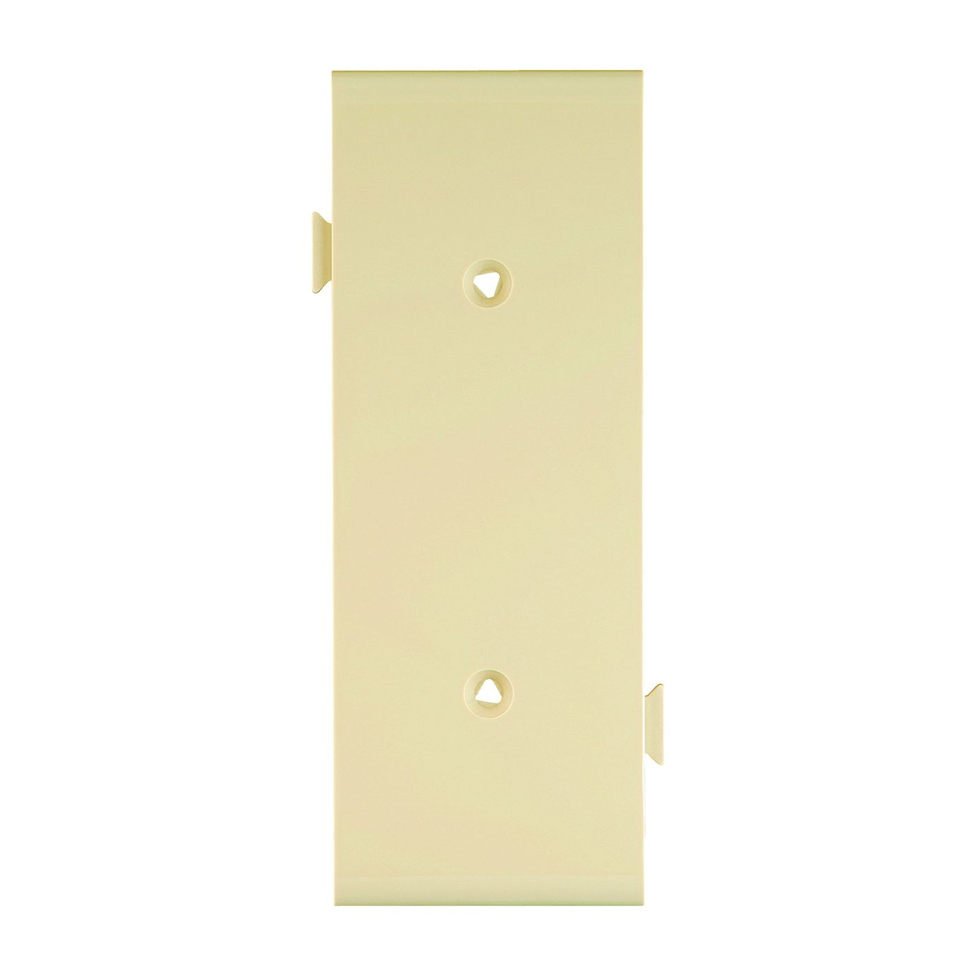 Picture of Eaton Cooper Wiring STC14V Wallplate, 1.9 in L, 4.83 in W, 1-Gang, Polycarbonate, Ivory, High-Gloss