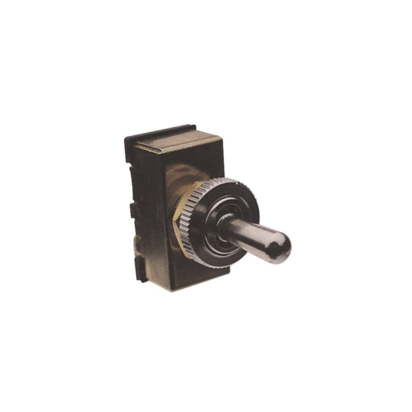 Picture of CALTERM 45100 Toggle Switch, 20 A, 12 V, Screw Terminal, Brass Housing Material, Tan