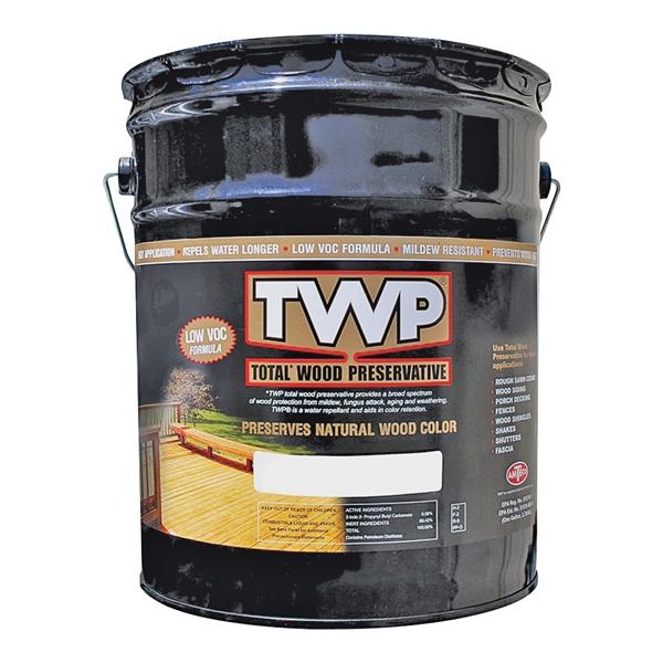 Picture of TWP 1500 Series TWP-1501-5 Wood Preservative, Cedartone, Liquid, 5 gal, Can