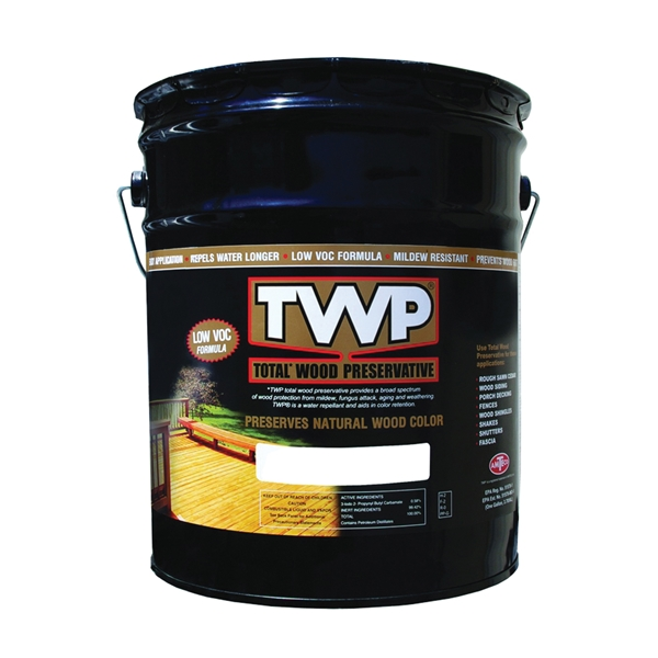 Picture of TWP 1500 Series TWP-1500-5 Wood Preservative, Clear, Liquid, 5 gal, Can
