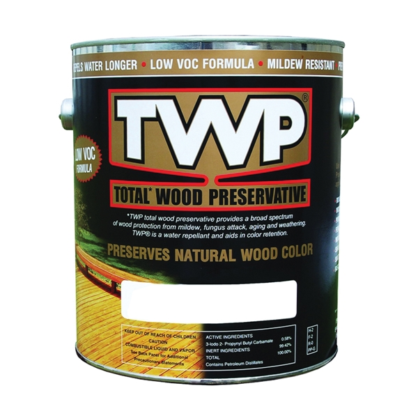 Picture of TWP 1500 Series TWP-1501-1 Wood Preservative, Cedartone, Liquid, 1 gal, Can