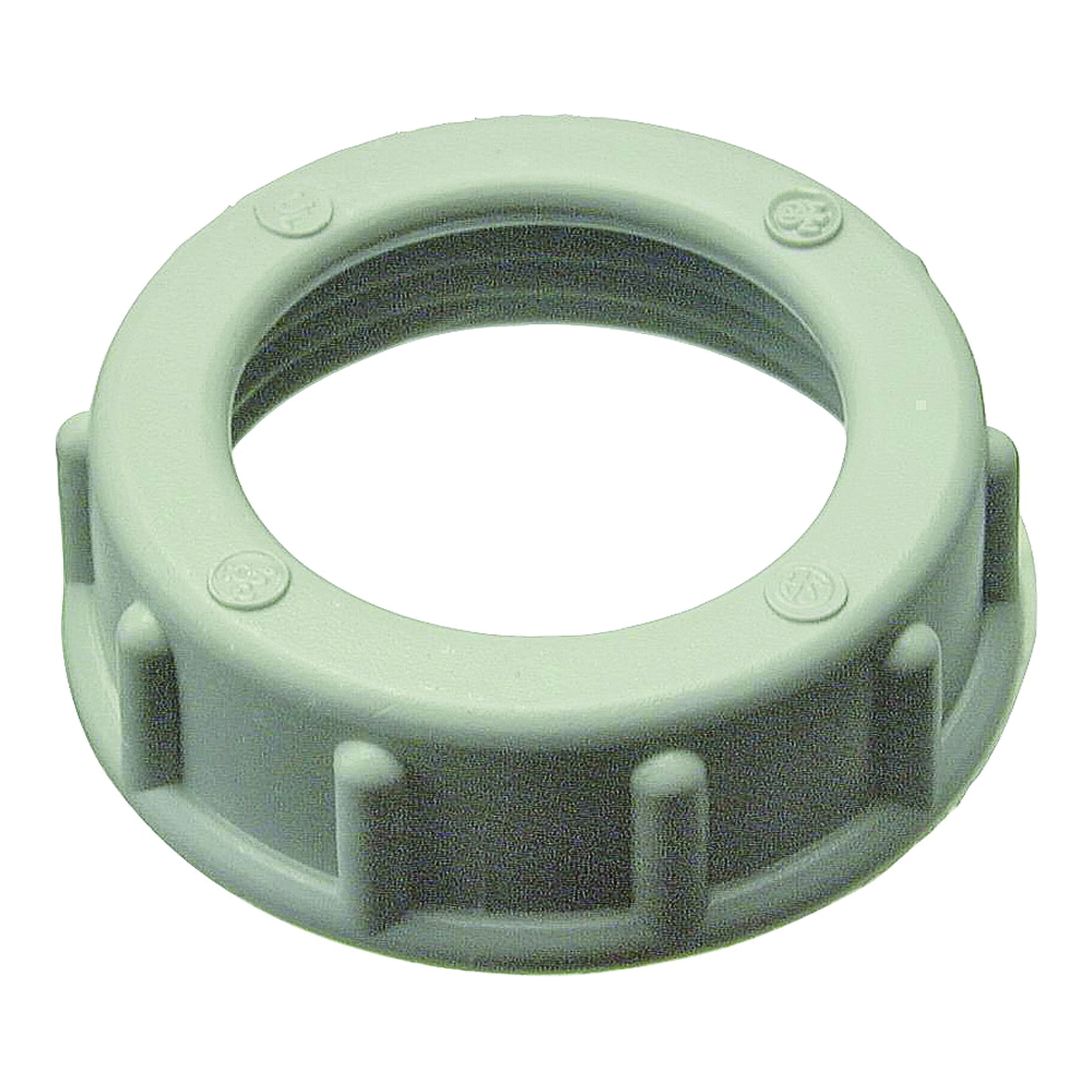 Picture of Halex 75230 Conduit Bushing, 3 in Trade, Thermoplastic