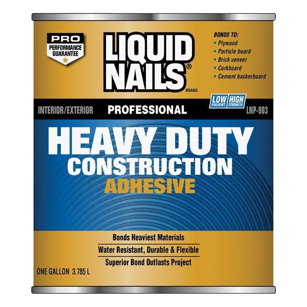 Picture of Liquid Nails LN-903-1QT LN-903 Construction Adhesive, Liquid, 1 qt Can