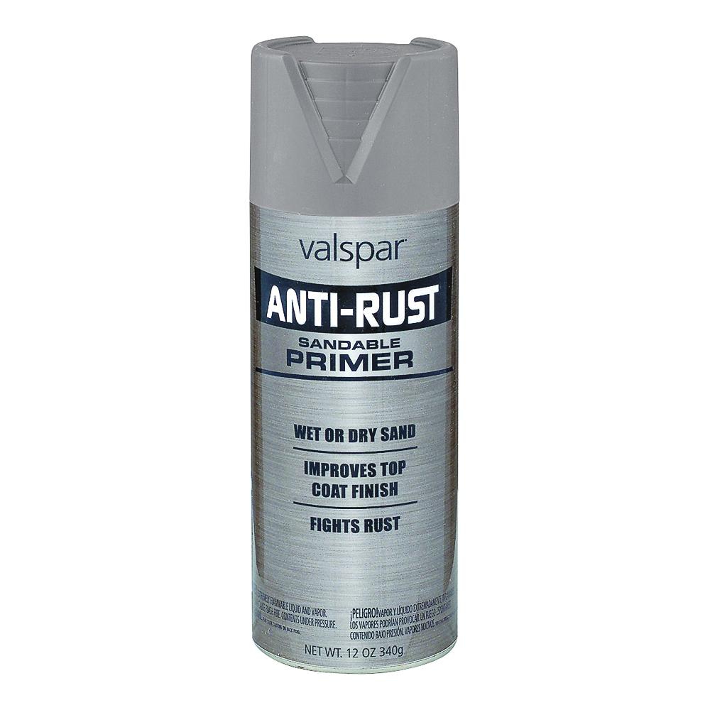 Picture of Valspar 68228 Anti-Rust Primer, Silver, 12 oz